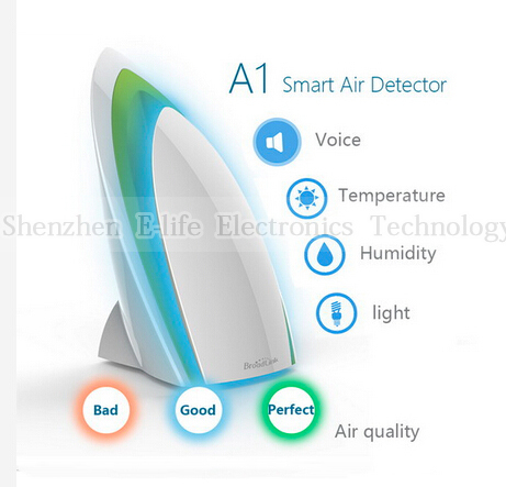 Гаджет  Broadlink A1 E-Air Smart Home Air Detector Testing Air Humidity PM2.5 Intelligent Home Systems None Бытовая техника
