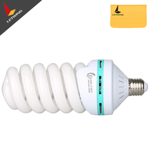 Buy 150W 220V 5500K E27 Photography Lighting Video Studio Fluorescent Bulb Tricolor Photography Light Spiral Bulb for $13.15 in AliExpress store