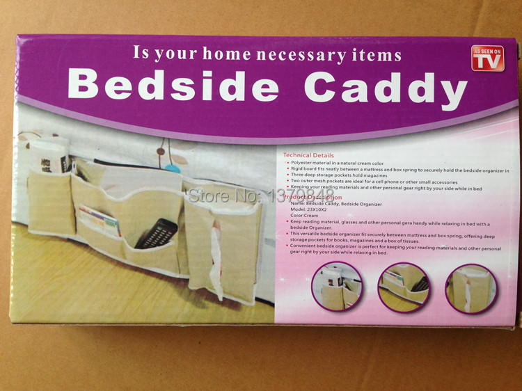 Bedside Storage Caddy Caddy Bedside Pocket Bed