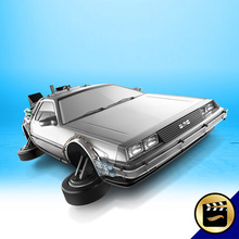 Hot Wheels Back To The Future Style Children's Educational Toys C4982 1:64 Car Model(China (Mainland))