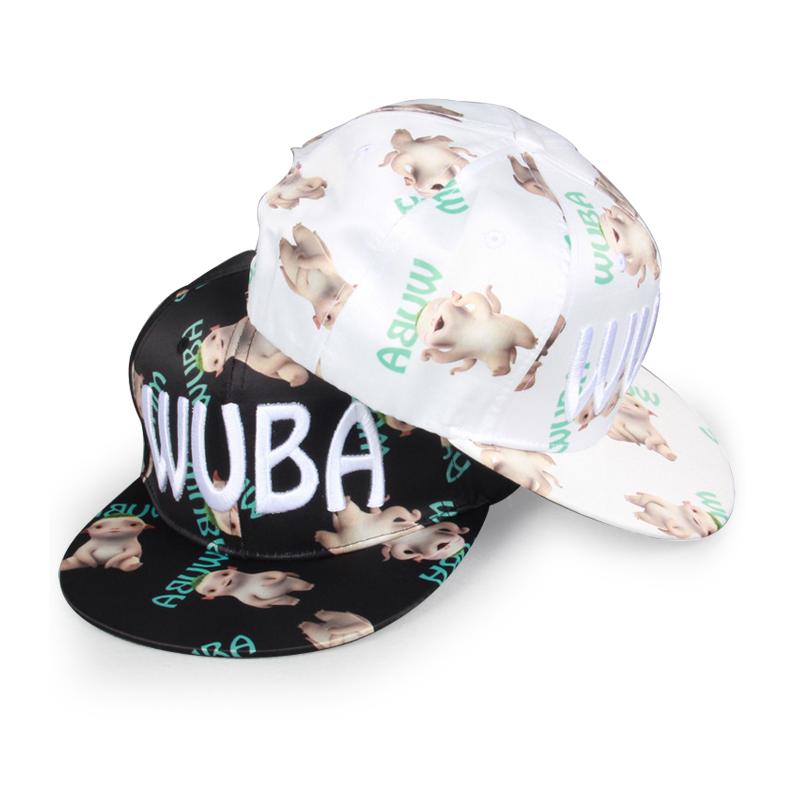 New Colored Sugar Bao Ping Hu Ba-brimmed Hat Monster Hunt Snapback Bone Hip Hop Cap Baseball Cap For Men Women Gorros Unisex Hat(China (Mainland))