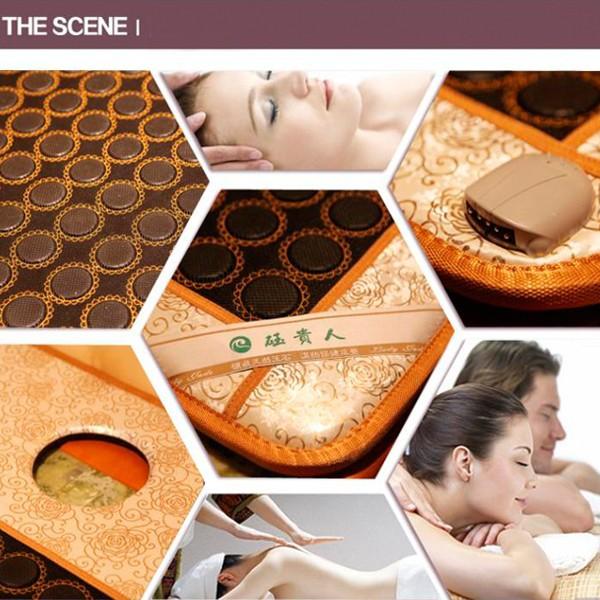 2016 Electric Health Mattress Natural Tourmaline Beauty Cushion Health Care Mat Tourmaline Physical Therapy Mat Free Shipping