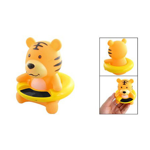 WSFS Hot Sale New 83g Orange Plastic Tiger Shaped Baby Bath Water Temperature Measuring Tool Free Shipping(China (Mainland))