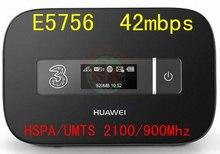 Huawei E5756 desbloqueado HUAWEI E5756s-2 3 g 4 g wi fi Router 4 g lte WIFI dongle Router wi fi móvel pk e587 e589 e5776s mf90 e5331