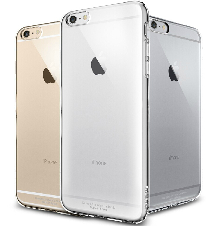 Fashion Crystal Clear Hard Plastic Case For iPhone 6 6S 4 7 For iPhone 6 Plus