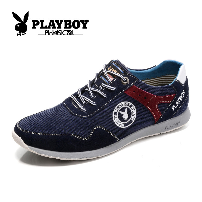 Playboy new men's fashion leisure shoes casual shoes round head tide male CX39007 shoes comfort(China (Mainland))