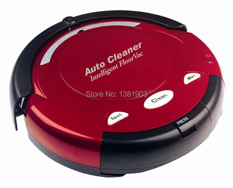 aspirateur robot with remote control,auto charging,Mop function,suction Model No.EG-H288 red(China (Mainland))