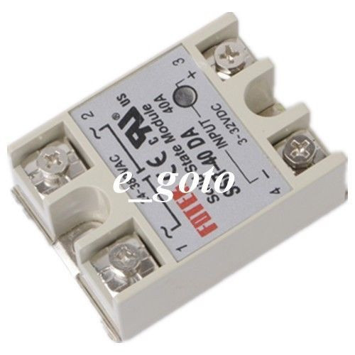 Solid State Relay Ssr 40da Ssr Dc Ac One Phase Relay 40a 3