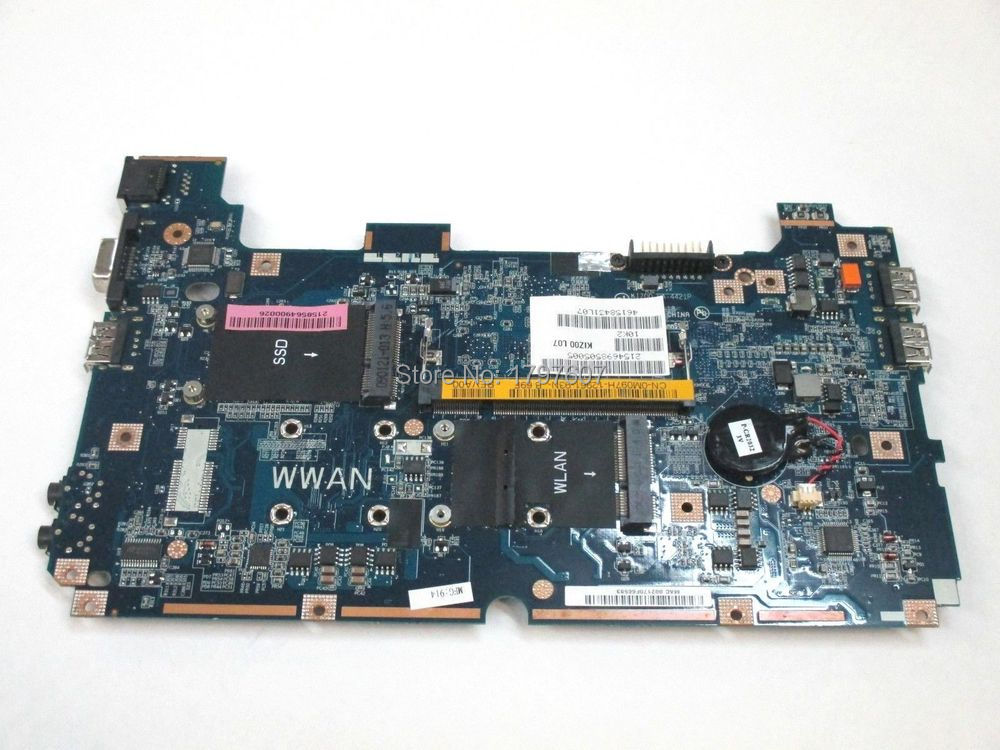 0M097H For Dell Inspiron Mini 9 910 Atom N270 1.6GHz LA-4421P Laptop system Motherboard Fully Tested(China (Mainland))