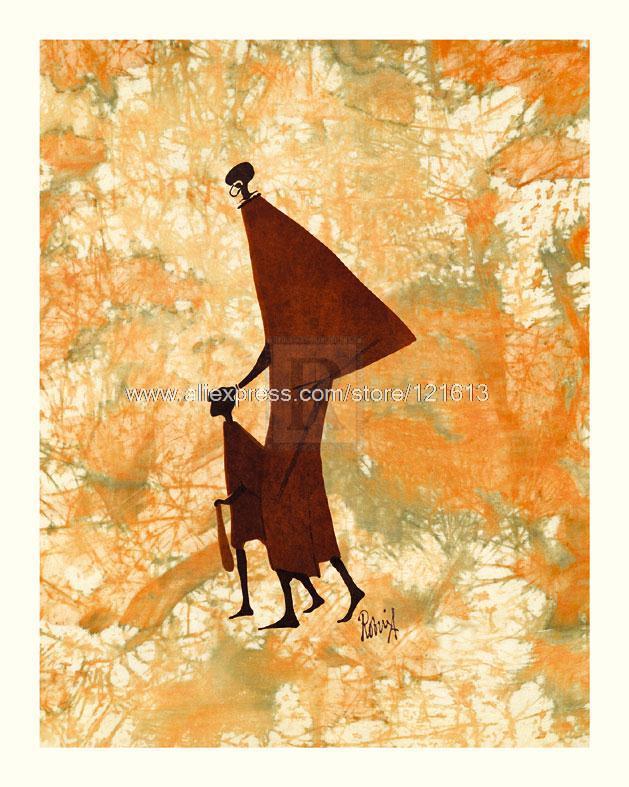 Robin Anderson Masai Mara Ethnic painting Or Various Sizes Hand Painted Arts And Crafts Modern Wallpainting Art Buye(China (Mainland))