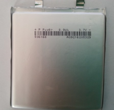 Factory direct PL506168 2500MAH polymer battery lithium polymer battery