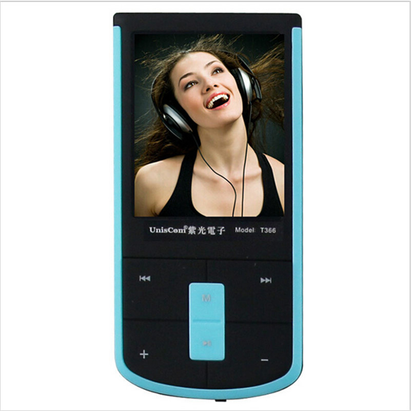Uniscom T366 fm mini MP3 movement MP3MP4 fever destructive gear have screen recorder MP3 player FM radio(China (Mainland))
