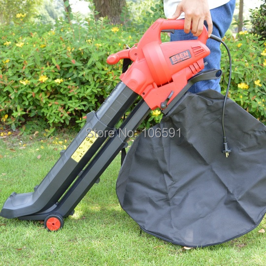 Telescopic tube powerful 2800w electric leaf stone blower vacuum,garden home use(China (Mainland))