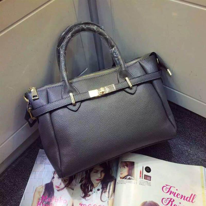 woman 100% real genuine leather famous casual  bag women handbag women cowhide leather shoulder bags tote messenger bag