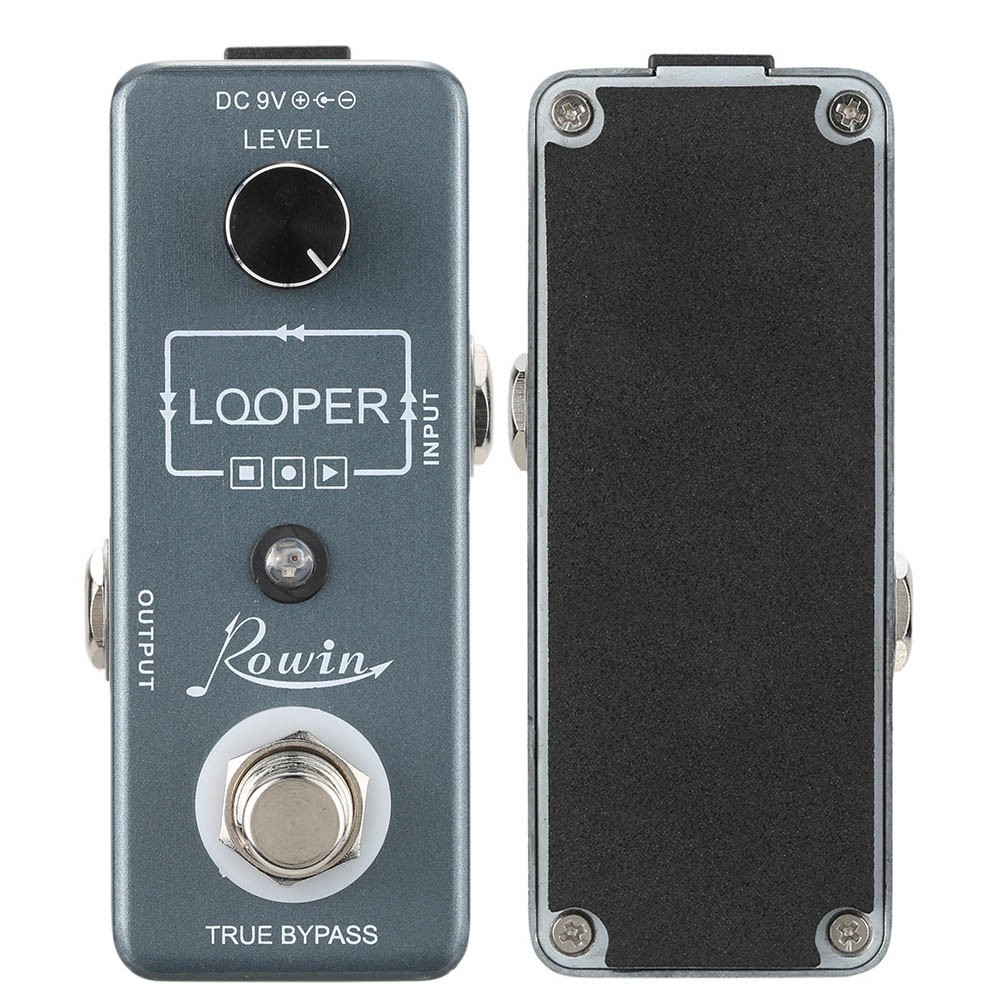 Rowin Loop Mini Electric Guitar Effect Pedal USB Cable Software & 10 Minutes Recording Single Effect with True Bypass(China (Mainland))