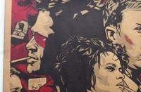 Fight club Movie Vintage Paper Posters Retro art Wall Decoration 30X42 CM