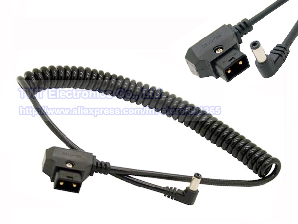 Coiled Electrical Cable : Spring stretch coiled bmcc power supply cable dc mm