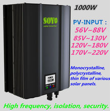 1000W Grid Tie  solar inverter  Waterproof  High frequency isolation