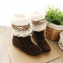 2016 Nuevas mujeres cortas botas de nieve de moda vintage botines mujer zapatos de invierno de las señoras caliente de la rodilla botas altas más el tamaño 662(China (Mainland))