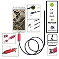 1M 7MM Android Endoscope Waterproof 6LED Borescope Micro USB Inspection Tube Snake Video Camera