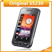 Cheap Original Mobile phone S5230 Phone FM bluetooth 3.0'' touch phone Unlocked(China (Mainland))
