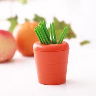 10pcs box carrot party picks party picks novelty toothpicks reusable toothpicks party picks - Novelty toothpicks ...