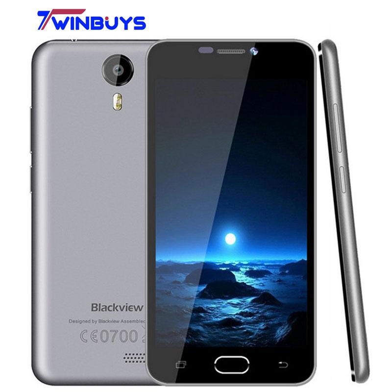 Original Blackview BV2000S MTK6580 3G Mobile phone/Blackview BV2000 4G LTE MTK6735 5 inch Quad Core Android 5.1 1GB ROM 8GB RAM(Hong Kong)
