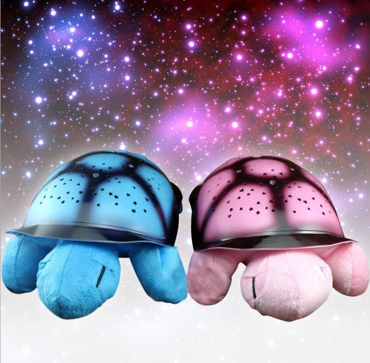 Music Plush Turtle Toy LED Star Projector Flashing Tortoise Night Light Baby Kids Children Sleep Constellation Lamp Gift Toys(China (Mainland))