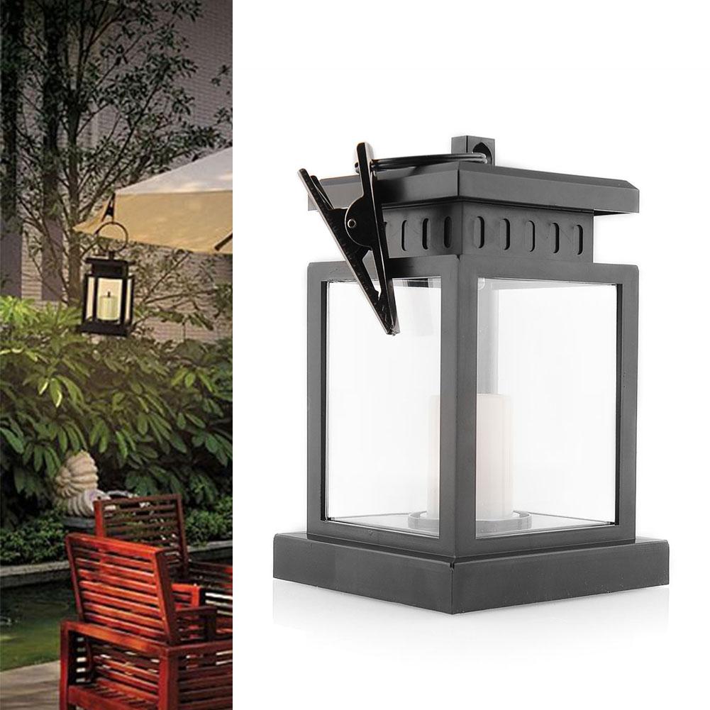 Home House Outdoor Candle Lantern Solar Powered Landscape Umbrella Tree Lantern Hang Lamp LED Bulbs Light(China (Mainland))