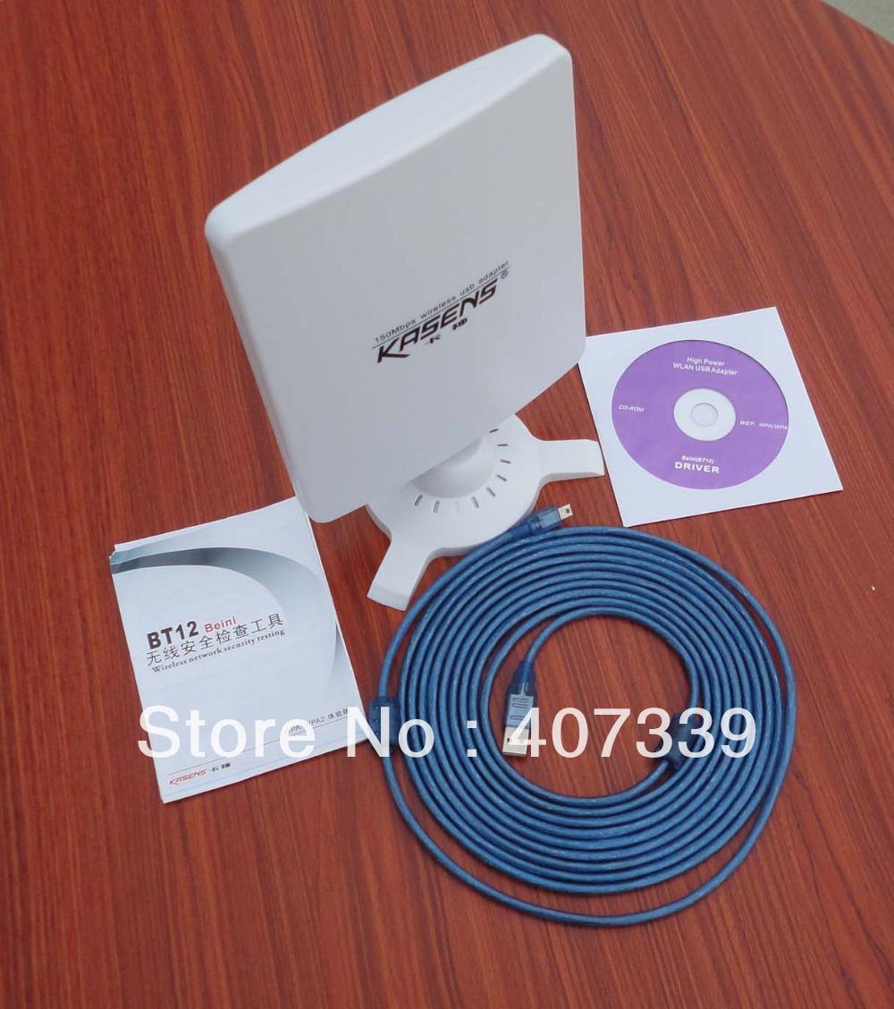 Здесь можно купить  Free shipping 10pcs/lot Kasens N5200 6600MW New 80DBI Wireless USB Wifi Antenna Adaptor 802.11 B/G/N  Компьютер & сеть