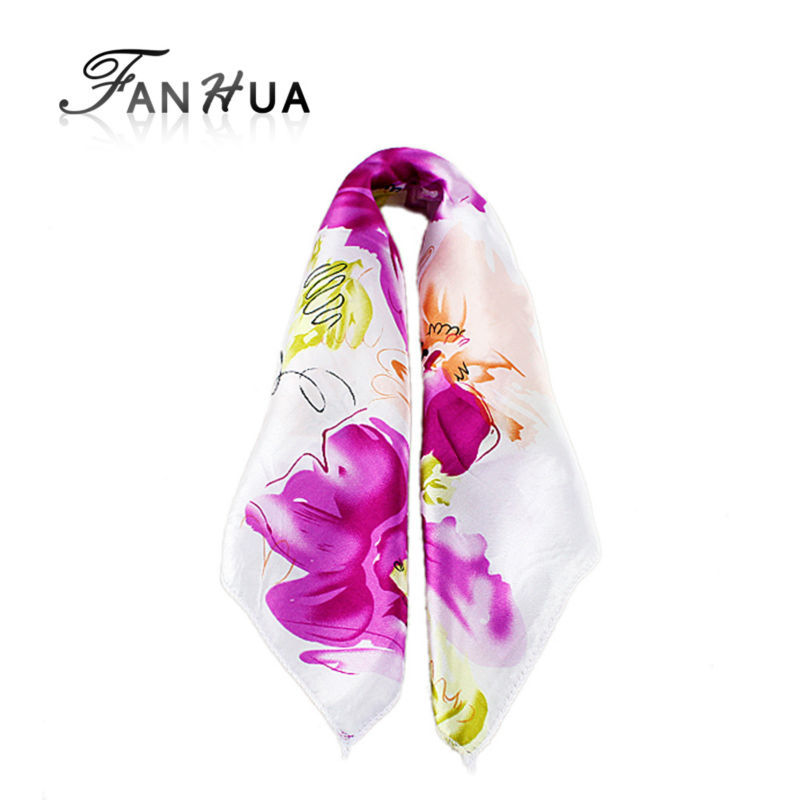 Multicolor Luxury Bohemian Print Square Scarves For Women New 2015 Summer Designer Apparel Accessories(China (Mainland))