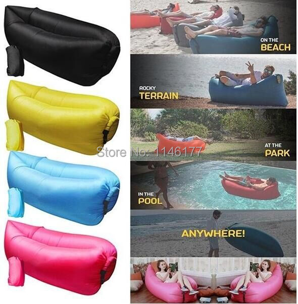 Ywxuege Inflatable Beanbag Sofa Chair, Living Room Bean Bag Cushion, Outdoor Self Inflated Beanbag Comfortable    Furniture