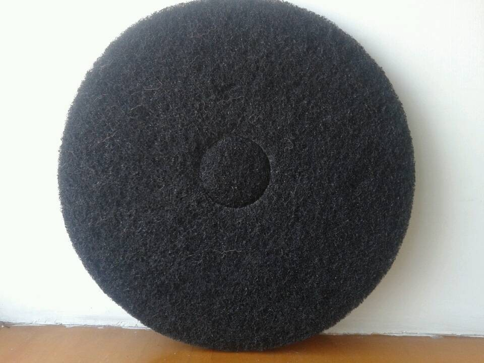 Black 20-inch pad of domestic supplies polishing and waxing the floor brushing washing machines(China (Mainland))