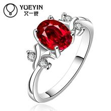 642-A 925 Silver plated new design finger ring for lady