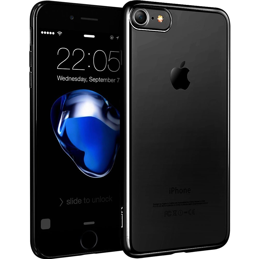 Luxury Brand phone case for apple iphone 7 / for iphone 7 plus TPU Silicone Case Clear Ultra Thin Back Cover for iphone 7(China (Mainland))