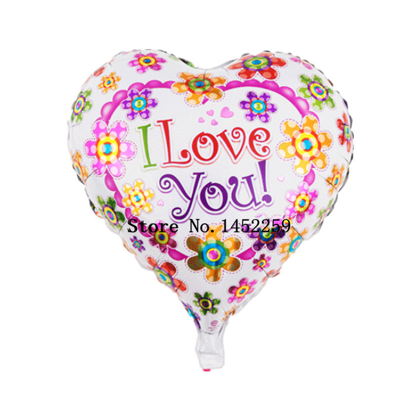 Buy free shipping the new helium balloon for Heart shaped decorations home