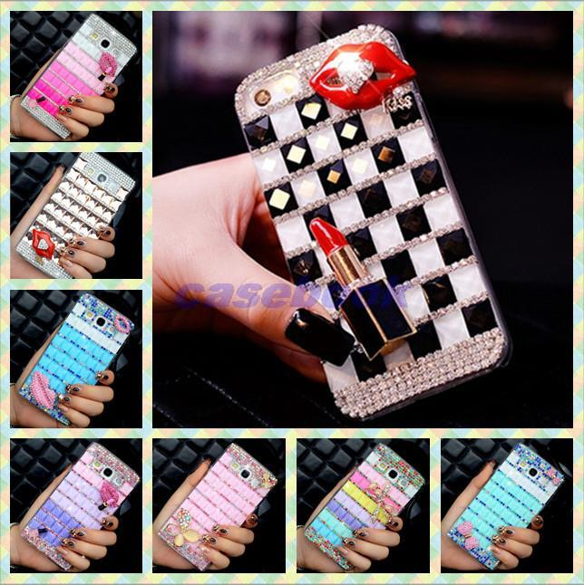 10pcs/lot For Sony T2 Ultra Case,Colorful Square Crystal Diamond Rhinestone Hard Cover For Sony Xperia T2 Ultra(China (Mainland))