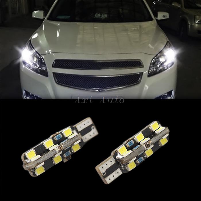 2x T10 led w5w 194 501 canbus 24 2835 smd clearance light car bulb width light For Toyota yaris 2008-2013(China (Mainland))