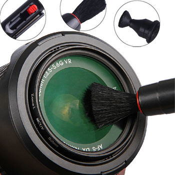 Universal 3in1 Lens Cleaning Pen Soft Dust Cleaner Kit For All DSLR VCR DC DV Filter Digital Camera Canon Nikon Telescope Screen