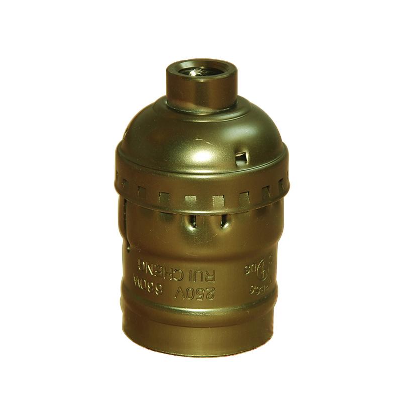 Vintage Edison Bulb Lamp Holder E27 Lamp Socket Retro Bronzed UL Aluminium Pendant Lamp bases 250V Ceiling Light Socket 10PCS<br><br>Aliexpress