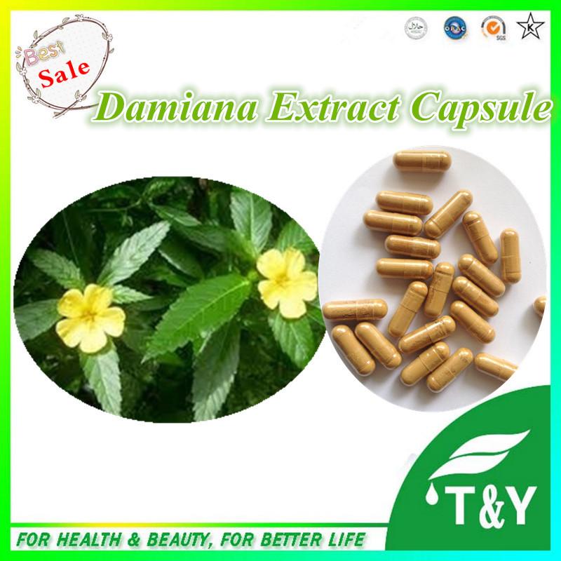 High Quality Damiana Extract Capsule(China (Mainland))