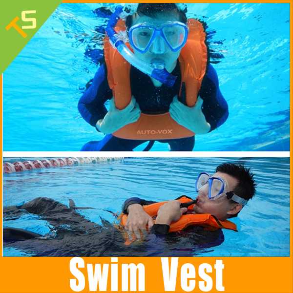 Summer Style Portable adult snorkeling vest Inflatable Float ring suit Equipment Men and Women Swimsuit/Swimwear/Bathing suit(China (Mainland))