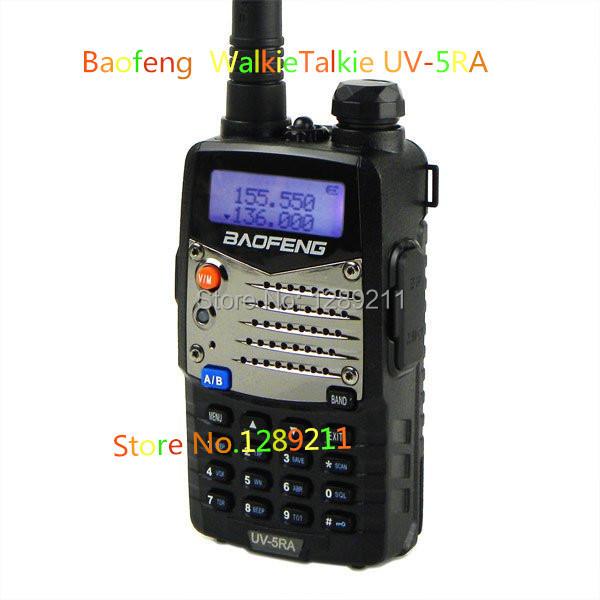 2014 New Walkie Talkie 5W Baofeng UV-5RA 128CH UHF+VHF DTMF VOX Metal Interphone A0888A Amateur Ham/Two-Way Radio(China (Mainland))