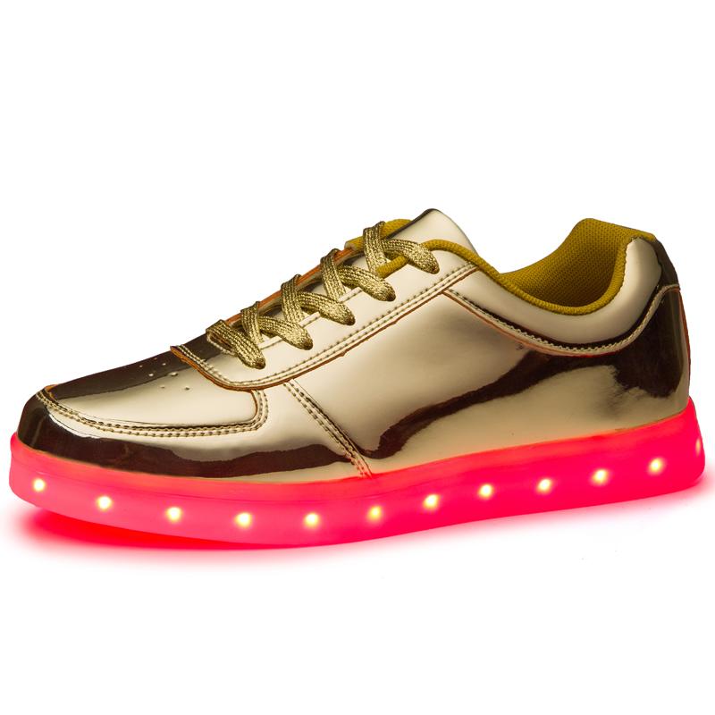 led chaussures promotion achetez des led chaussures. Black Bedroom Furniture Sets. Home Design Ideas