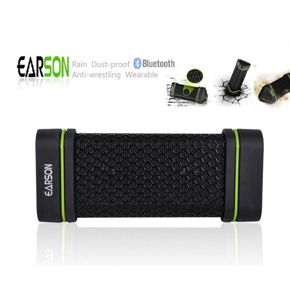 Sound Earson Er151 Out Door Wireless Bluetooth Speaker Water Dust Shock Proof hands-free answer phone mini Speaker(China (Mainland))
