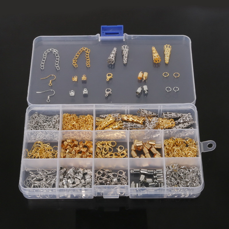 Buy diy jewelry findings kit bead caps for Earring supplies for jewelry making