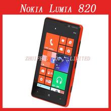 Lumia 820 Original Unlocked Nokia Lumia 820 Smartphone 8MP GPS GSM 4.3″ capacitive touchscreen Bluetooth Wi-Fi
