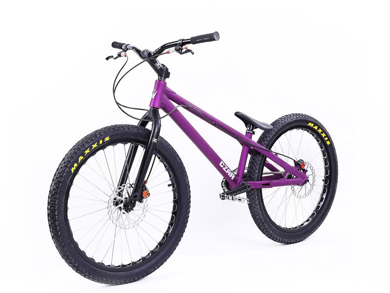 """NEW CZAR 24"""" Street Trials Bike Street ECHO bicycle BIKETRIAL BMX BIKE TRYALL for Sports(China (Mainland))"""