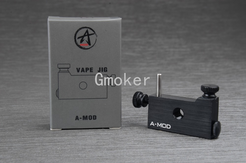 Atomizer coil jig Vape coil DIY RBA RBA Rebuildable atomizer coil jig screw coil heating wire wick machine e cigarette tools(China (Mainland))