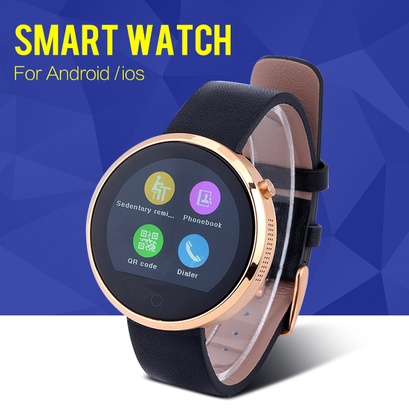 Bluetooth Smart Watch D- Watch for Samsung HTC Huawei Xiaomi Android for iPhone Smartphone WristWatch Support Sync Call Message
